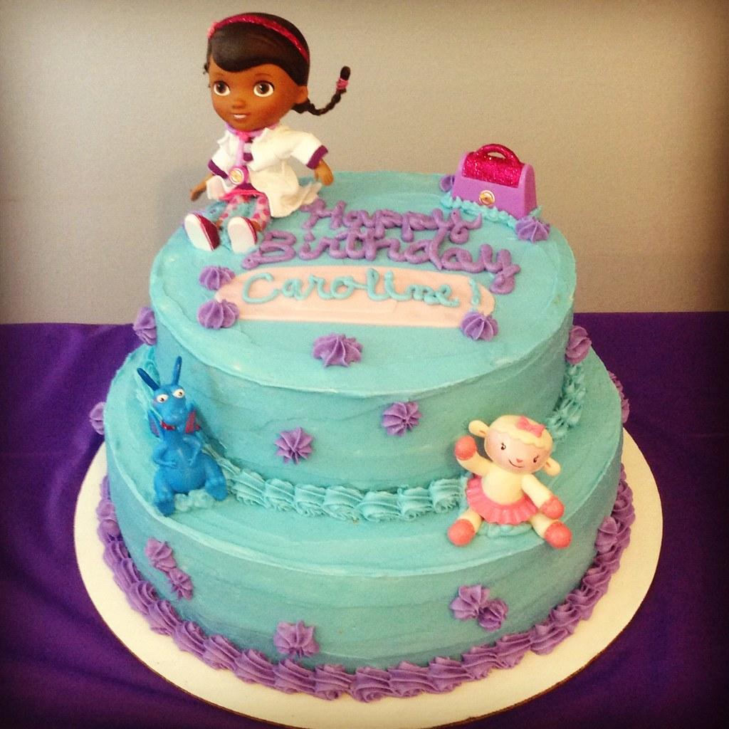 Doc Mcstuffins Birthday Cake Krista Becker Flickr