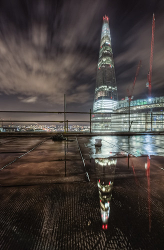 The Shard reflected | by odin's_raven