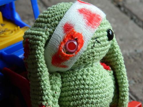 Amigurumi Crochet Zombie