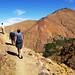 Walking in High Atlas Mountains, Morocco