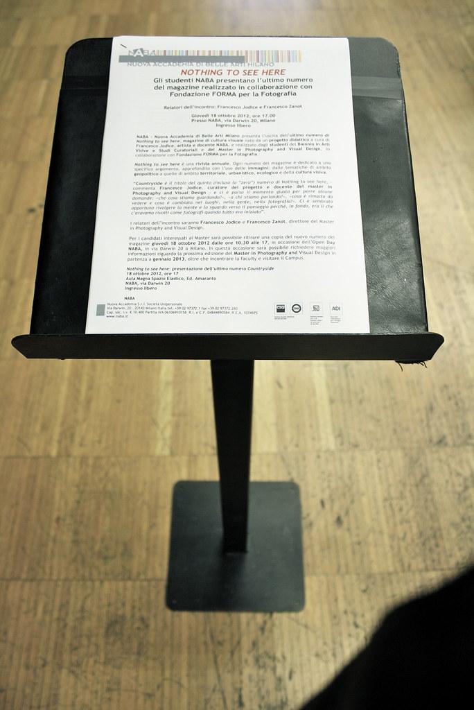 Nuova Accademia Del Design naba open day ottobre 2012 | naba nuova accademia di belle