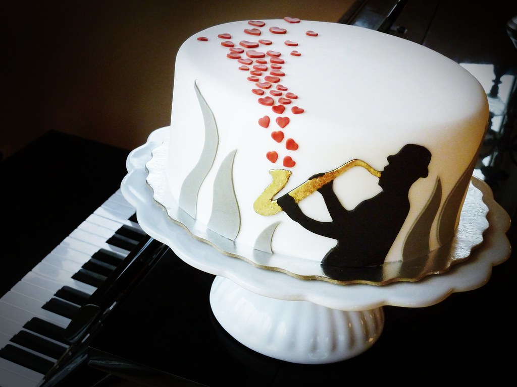 Jazz Themed Cakes