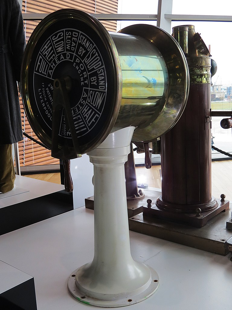 Engine Room Telegraph: Engine Order Telegraph - An Original