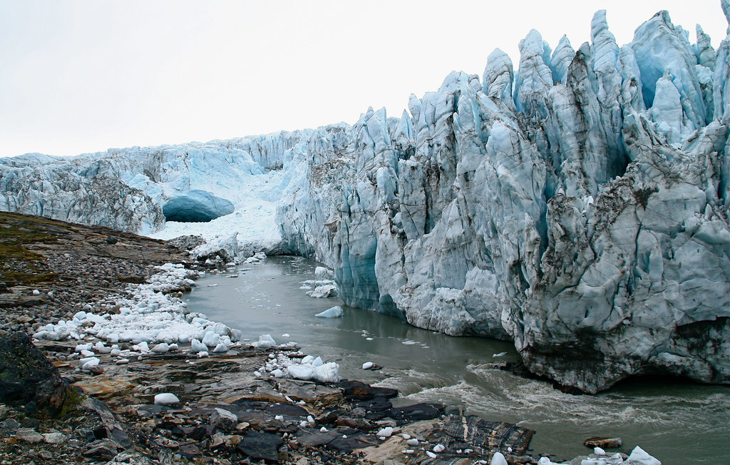 At The Edge Of The Icecap Russell Glacier Greenland Flickr