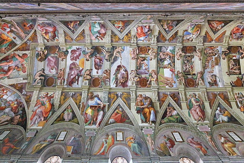 Roof Of The Sistine Chapel Sistine Chapel Sacellum