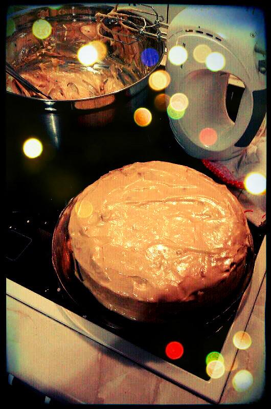 Tarta de zanahoria con cobertura de crema de queso y - Dulce de zanahoria ...