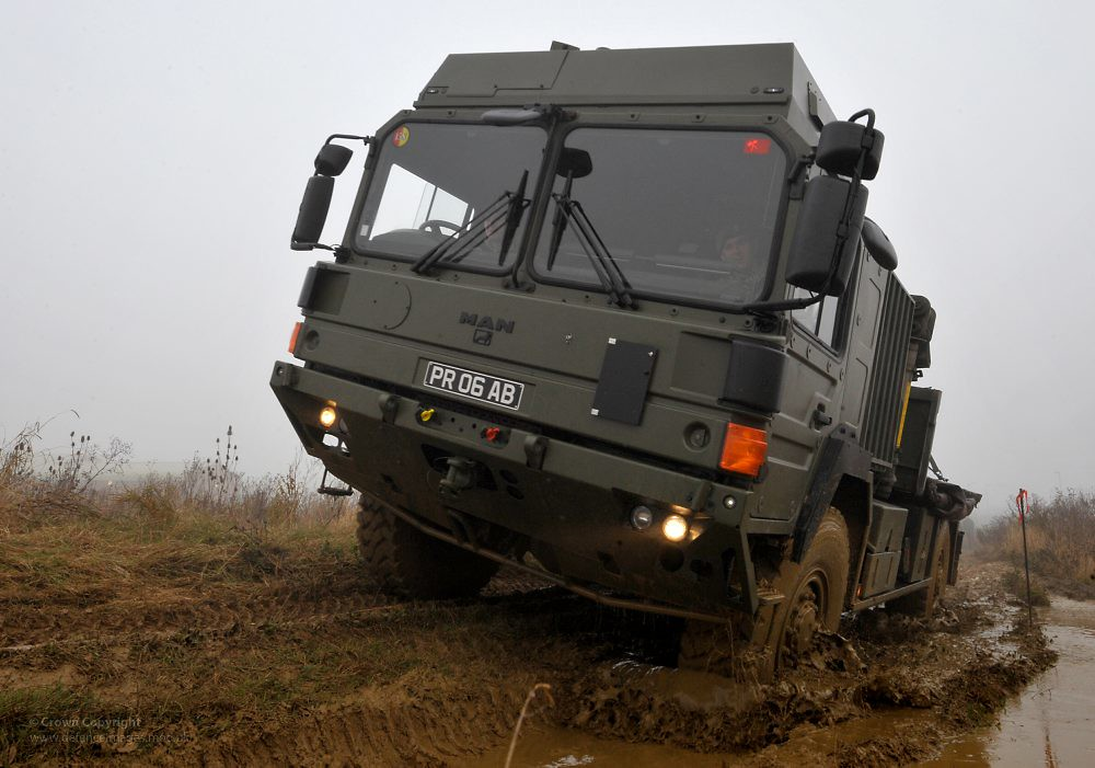 British Army MAN Vehicle | A MAN vehicle of 158 Transport ...