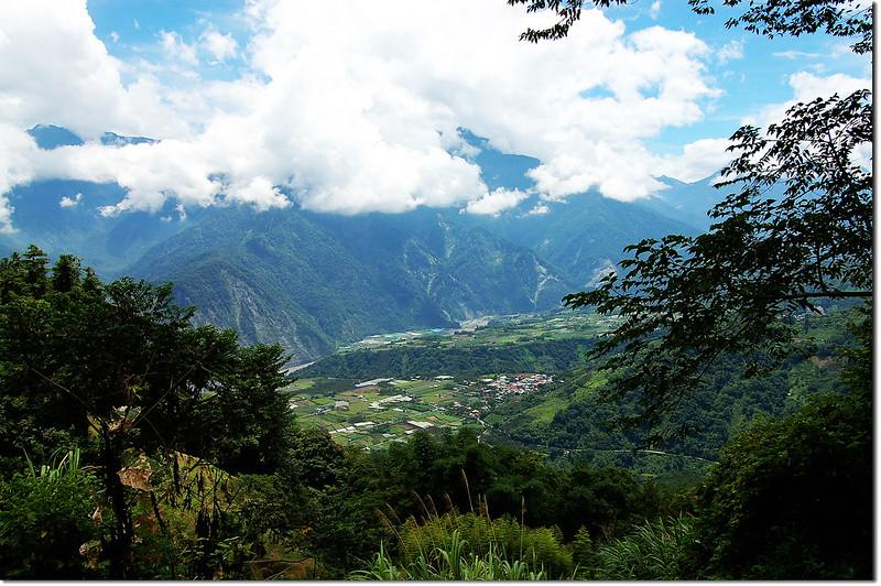 風櫃斗山俯瞰新鄉、羅娜部落