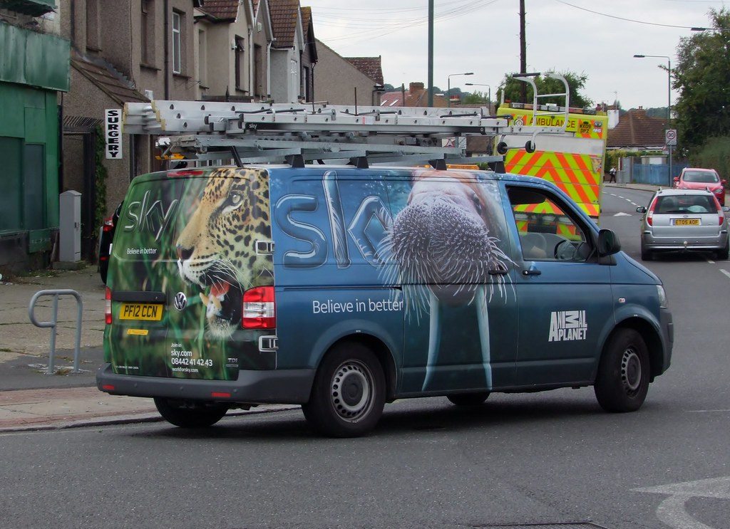 Sky Animal Planet Van Sky Tv 2012 Volkswagen Transporter