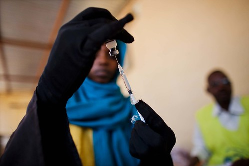 Vaccination campain against meningitis in El Fasher | by UNAMID Photo