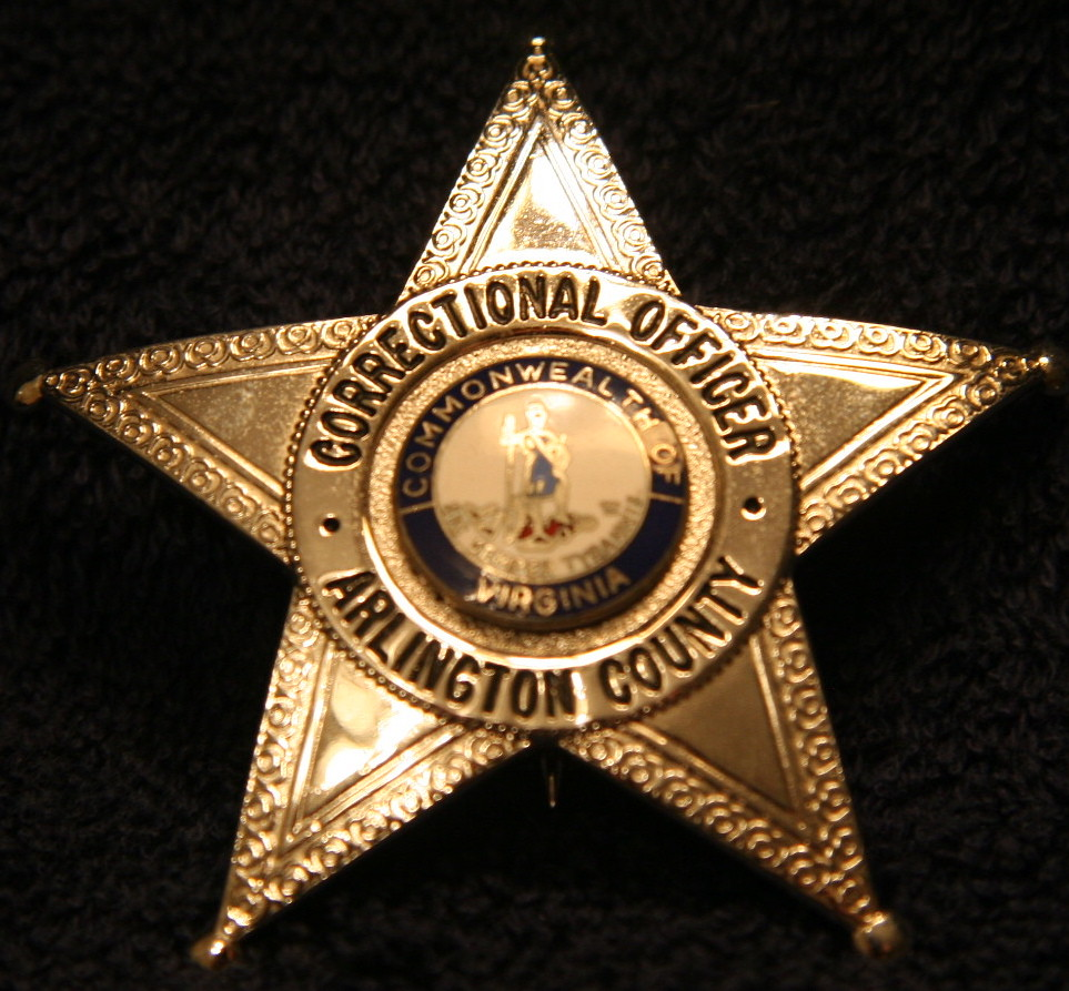 ... 20   ARLINGTON COUNTY VA   CORRECTIONAL OFFICER   BADGE | By Mtbikejoe