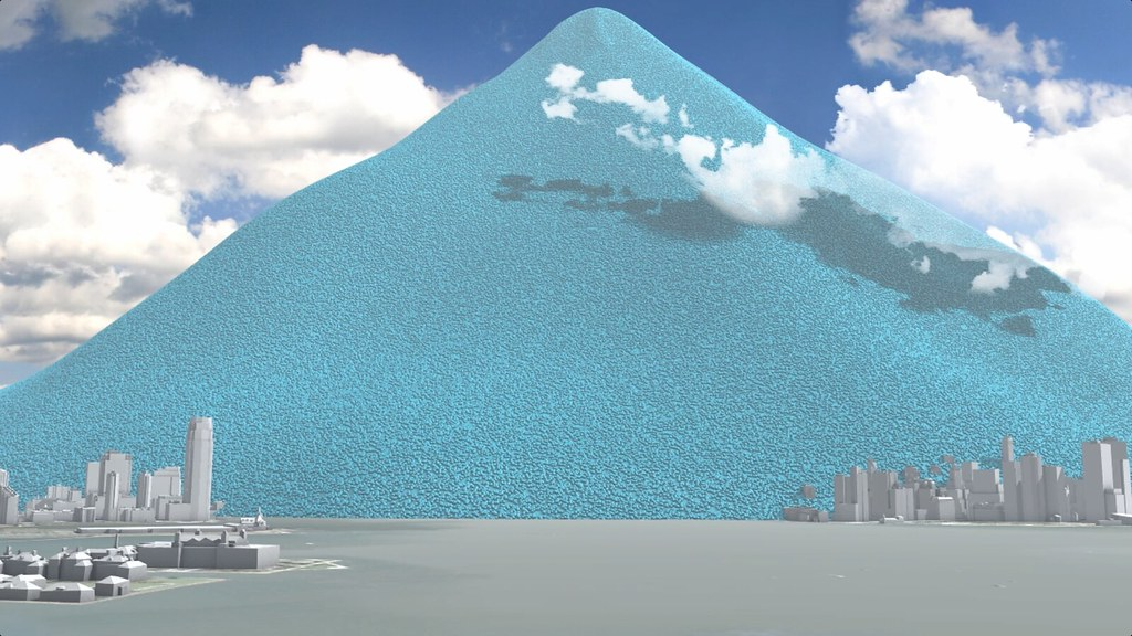 New York City S Annual Carbon Dioxide Emissions As One Ton