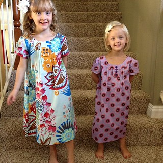 Family Reunion dress by Oliver + S. I made them really big. Oops. | by Darci - Stitches&Scissors
