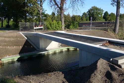Baustelle Radfahrerbrücke #2