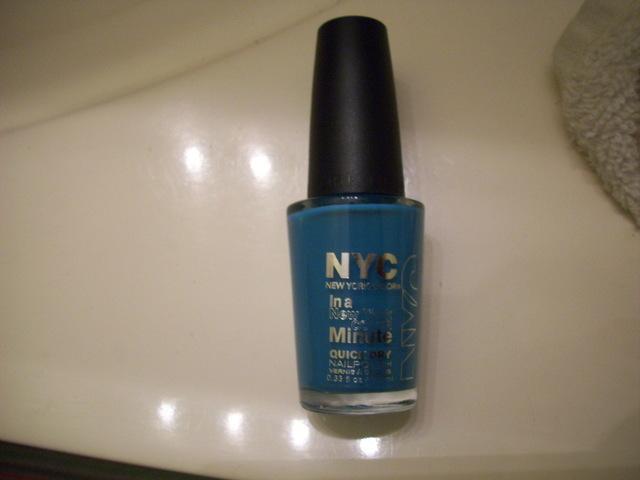 Street Blue Nail Polish