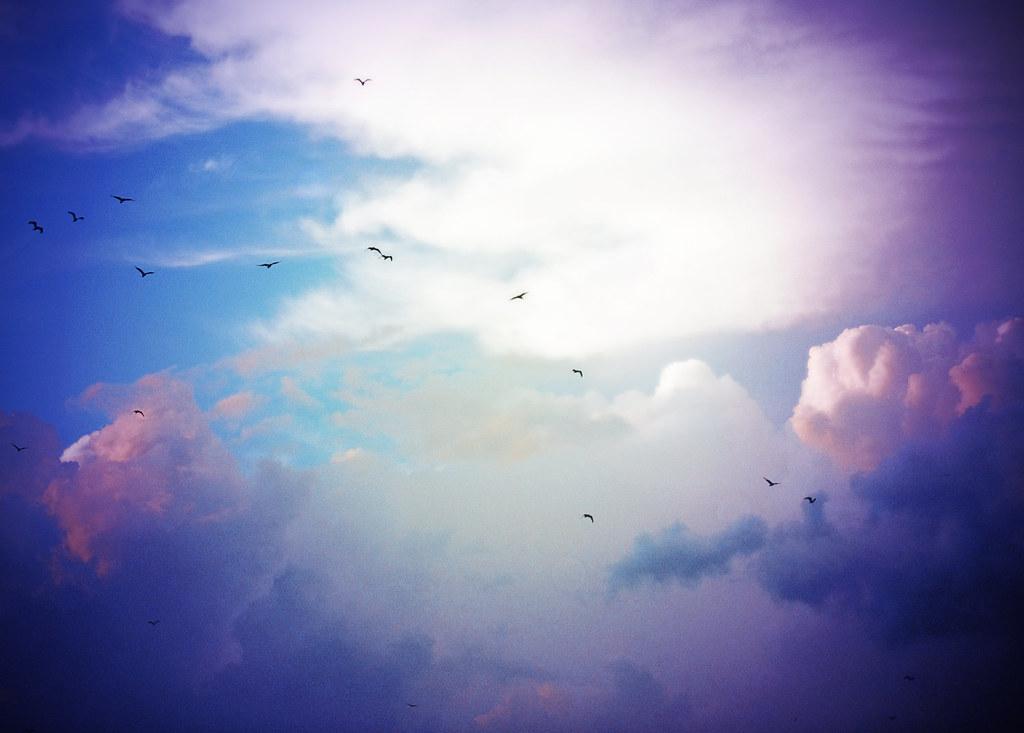 how to create a twilight sky on a cyc