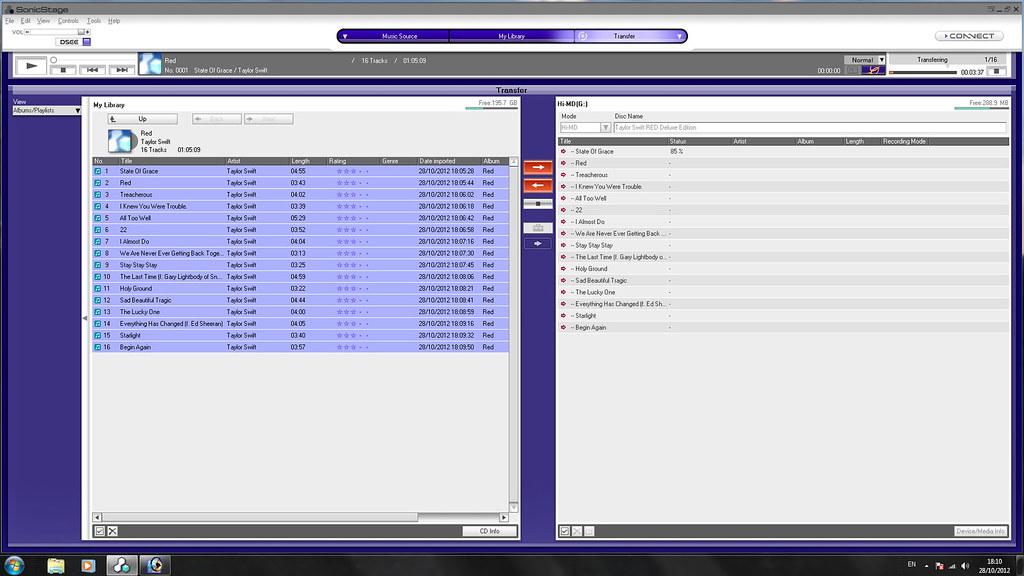 sonicstage windows 7