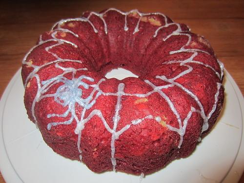 Red Bundt Cake
