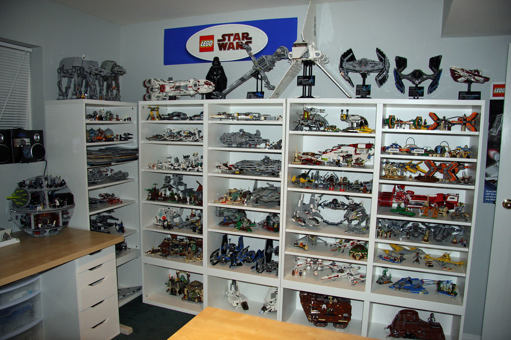 Old LEGO room right side - Star Wars
