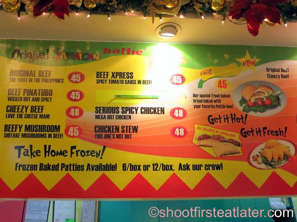De Original Jamaican Pattie Shop menu-002   Leslie   Flickr
