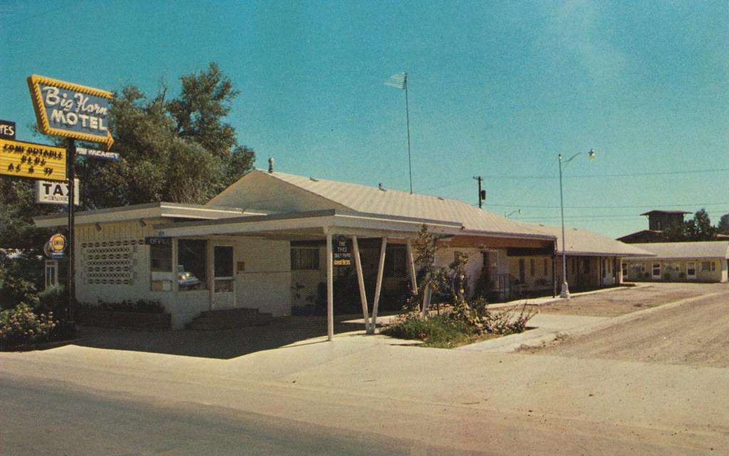 Big Horn Motel - Buffalo, Wyoming