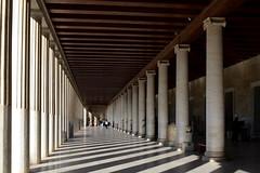 The tyranny of perspective: Stoa of Attalus, Athenian Agora, January 2012