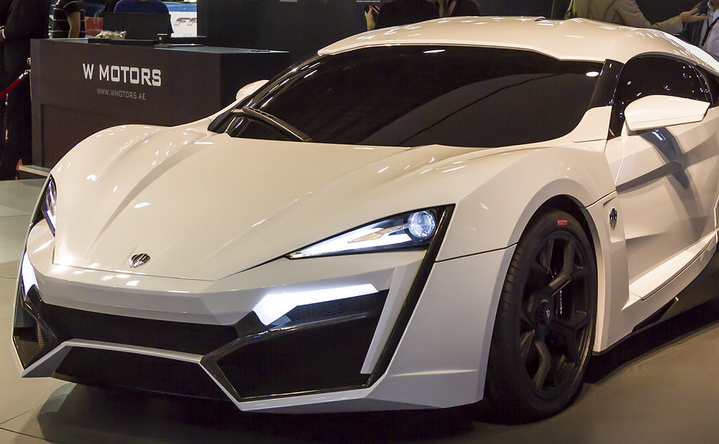 W Motors Lykan Hypersport 2013 W Motors Lykan Hypersport