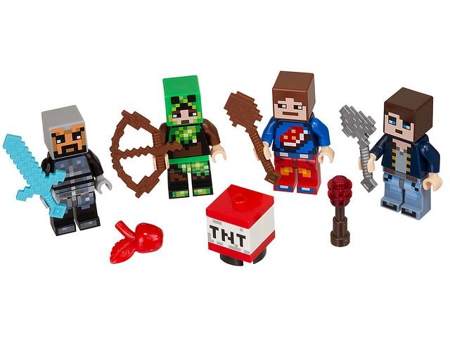 LEGO Minecraft 853609 - Skin Pack