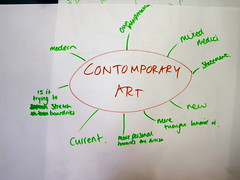 What is Contemporary Art Brown and Green   Creative Consulta…   Flickr