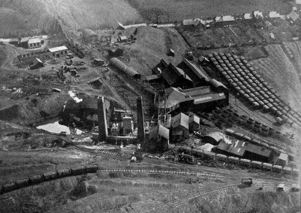New Cross Hands Colliery Carmarthenshire 1928 The