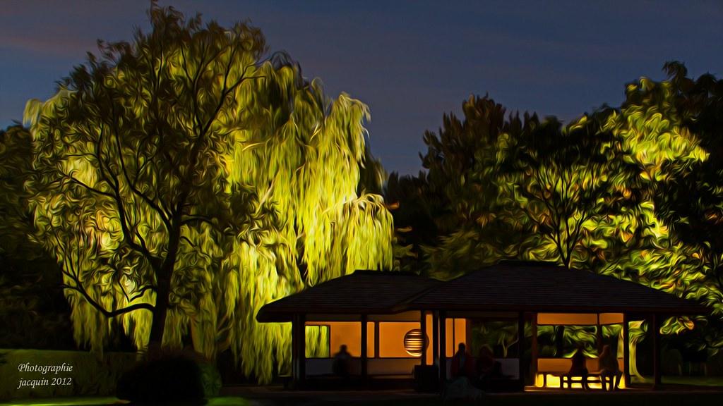 Pavillon japonais jardins de lumi re jardin japonais for Lumiere de jardin