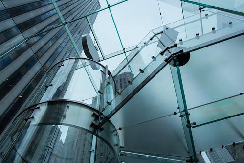 Glasses Apple Apple Store Glass Elevator