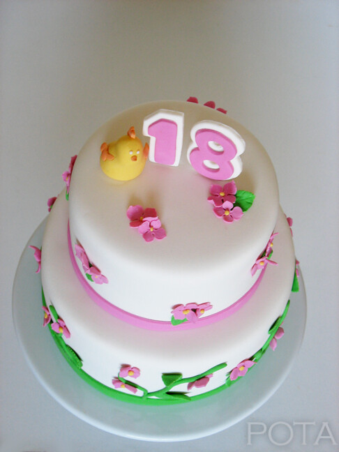 G teau d 39 anniversaire pour les 18 ans g teau d 39 anniversair flickr for Comgateau d anniversaire fille original