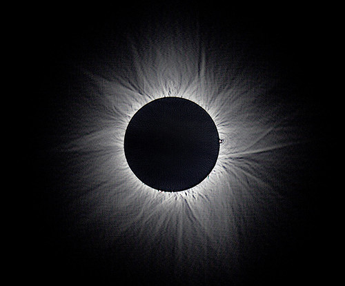 Corona detail from the 2012 total solar eclipse | by whale05