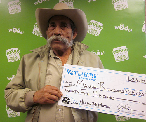 Manuel Betancourt - $2,500 Million Dollar Match | by Idaho Lottery