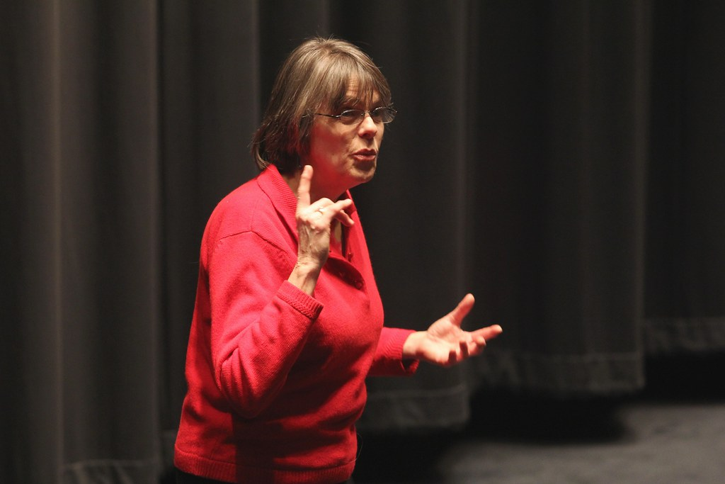 Mary Beth Tinker from the landmark students' rights case