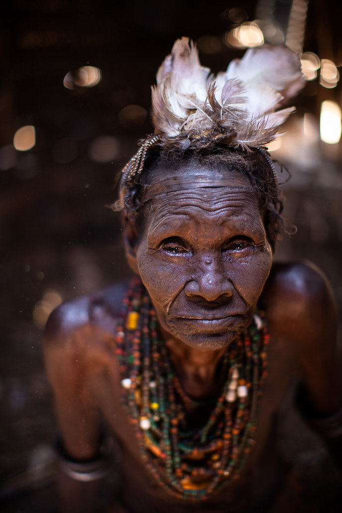 Old Woman Dassanech Galeb Tribe Also Known As The Galeb