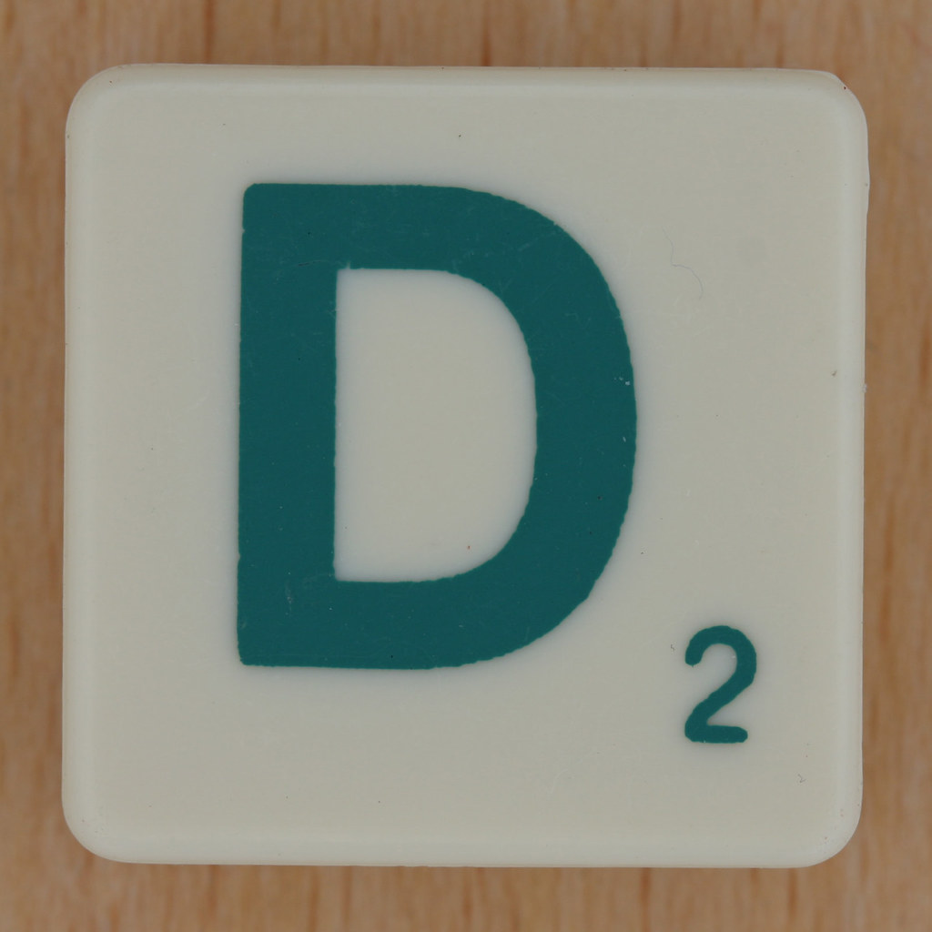 Scrabble Green Letter D | Leo Reynolds | Flickr