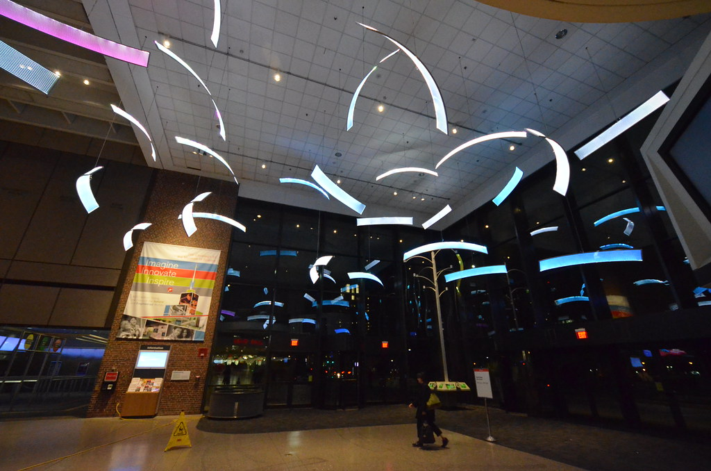 ... Boston Museum of Science | Lobby LED color panel exhibit | by Chris  Devers