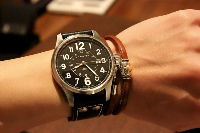 Smart Choice Auto >> HAMILTON KHAKI FIELD OFFICER AUTO H70615733 | Flickr