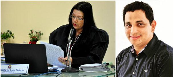 Impugnação de candidato de 2 mil votos tem na relatoria a vice do TRE, foto de Célia Regina e Alexandre Maduro