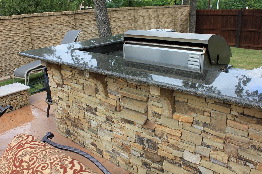 Dallas outdoor kitchen design for Dallas outdoor kitchen designs