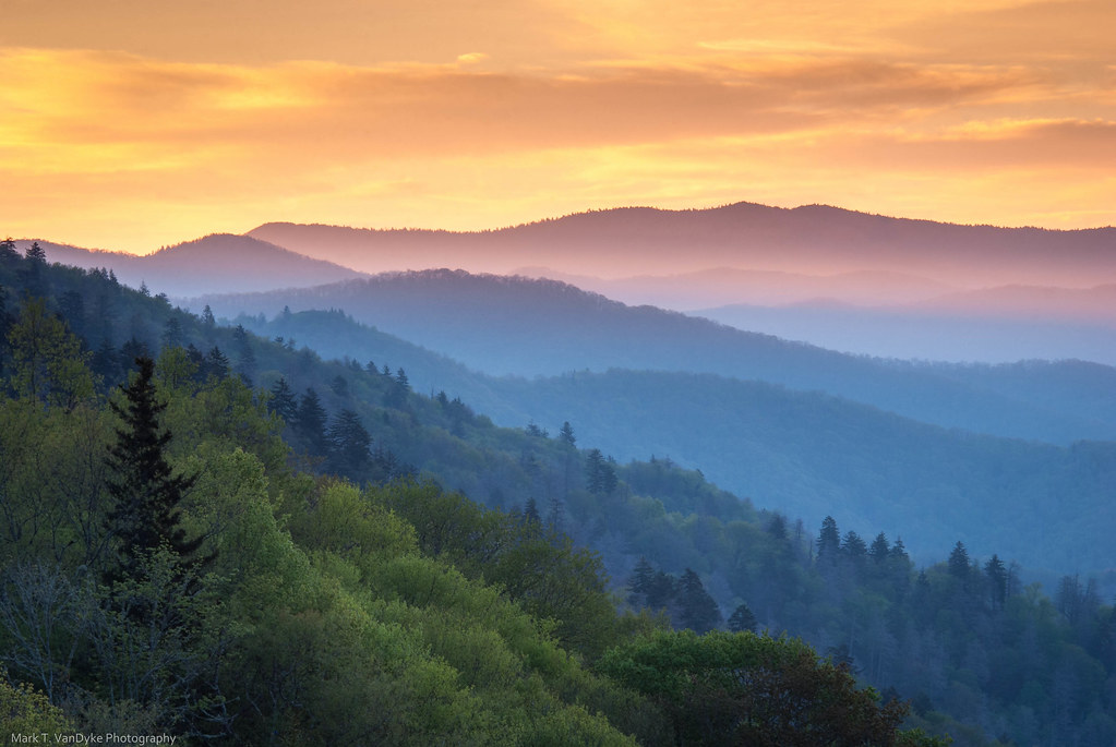 The Great Smoky Mountains National Park Sunrise Filters