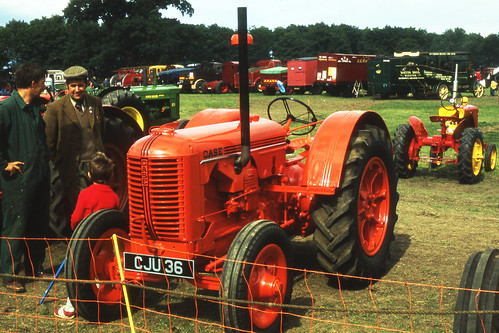 Old Case Tractor : Vintage case tractor cju model dex the