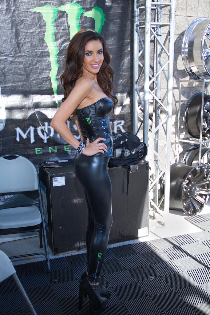 Monster Energy Girl - Las Vegas, Nv Usa  Say Hello To My -4211