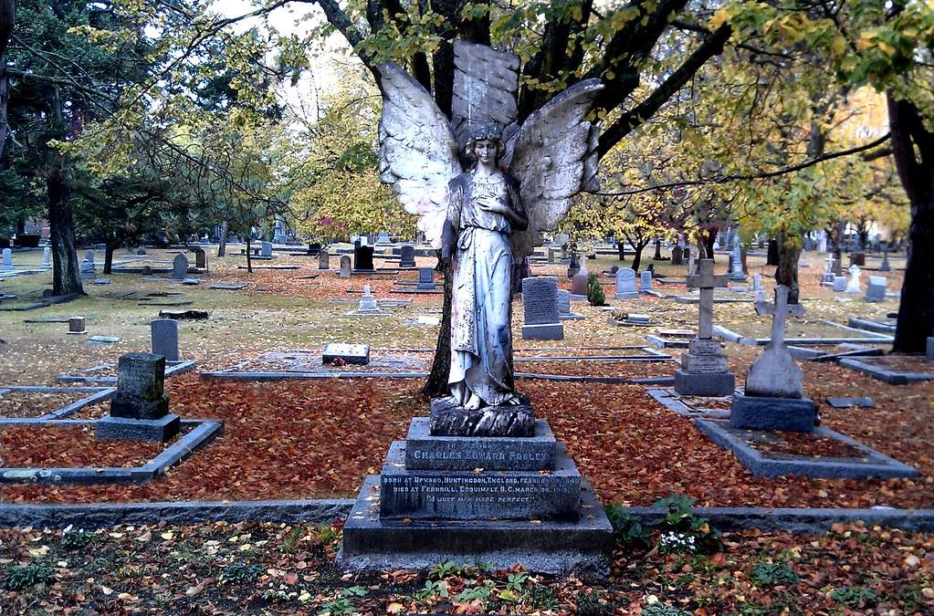 Angel Ross Bay Cemetery In Victoria Bc Canada Lorena Amaya Flickr
