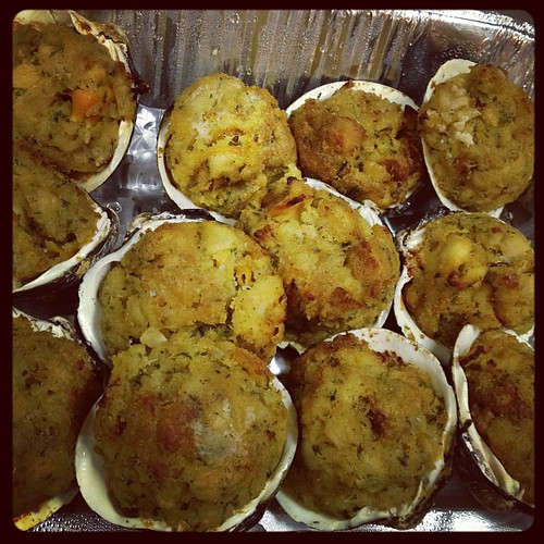 Stuffed clams! | by mehjg
