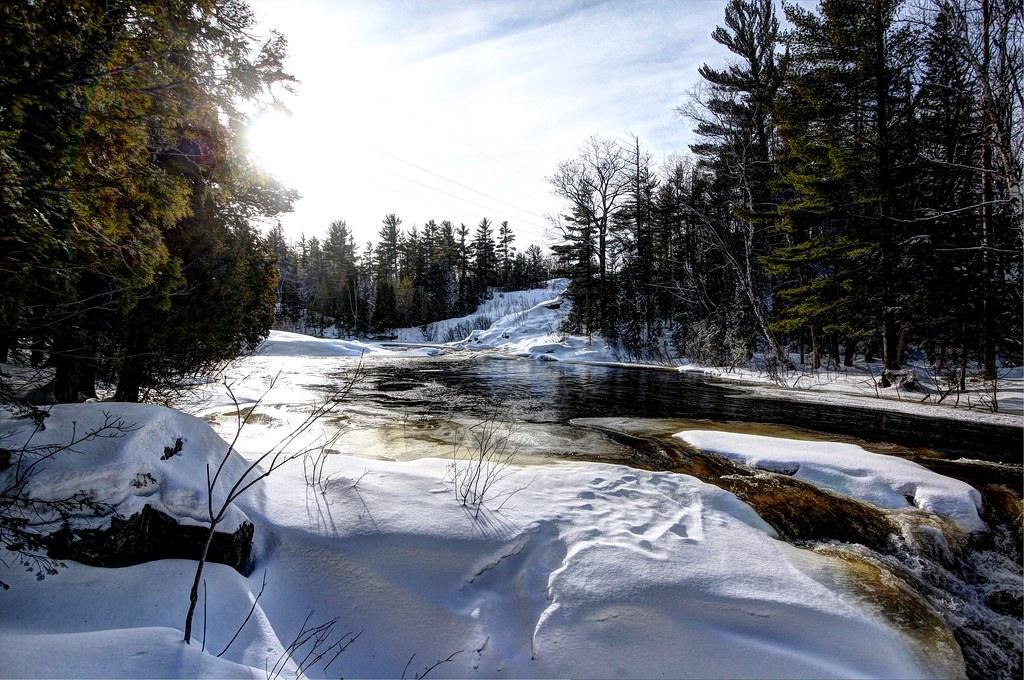 Upper Dead River Marquette County Michigan From 2009