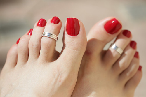 Foot sex nails