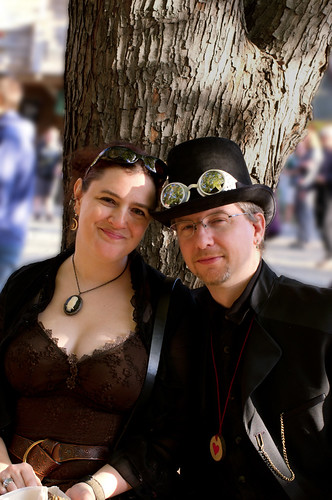 steampunk couple | by Tesla1876